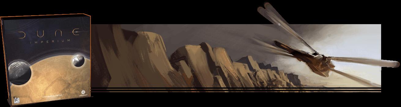 Dune Imperium Box Art