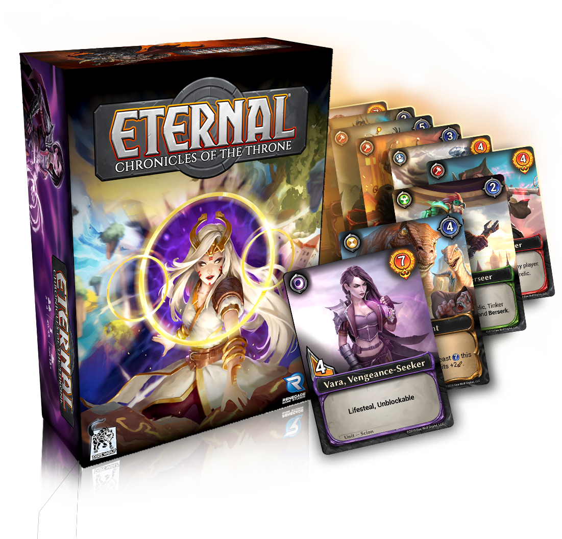 Eternal: Chronicles of the Throne Product Shot