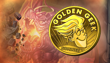 Golden Geek Awards – Six Nominations!