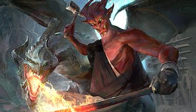 Wallpaper: Oni Dragonsmith