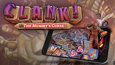 Renegade Companion App Update: Clank! The Mummy's Curse