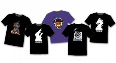 T-Shirts for Clank! and Eternal Available Now!