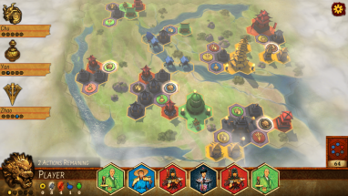 Reiner Knizia's Yellow & Yangtze available on PC, Phone and Tablet on Thursday!
