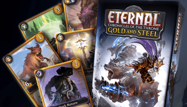 Eternal: Chronicles of the Throne – Gold & Steel Now Available for Pre-Order!
