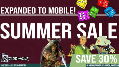 Save 30% on Digital Board Games on Steam, iOS, and Android!